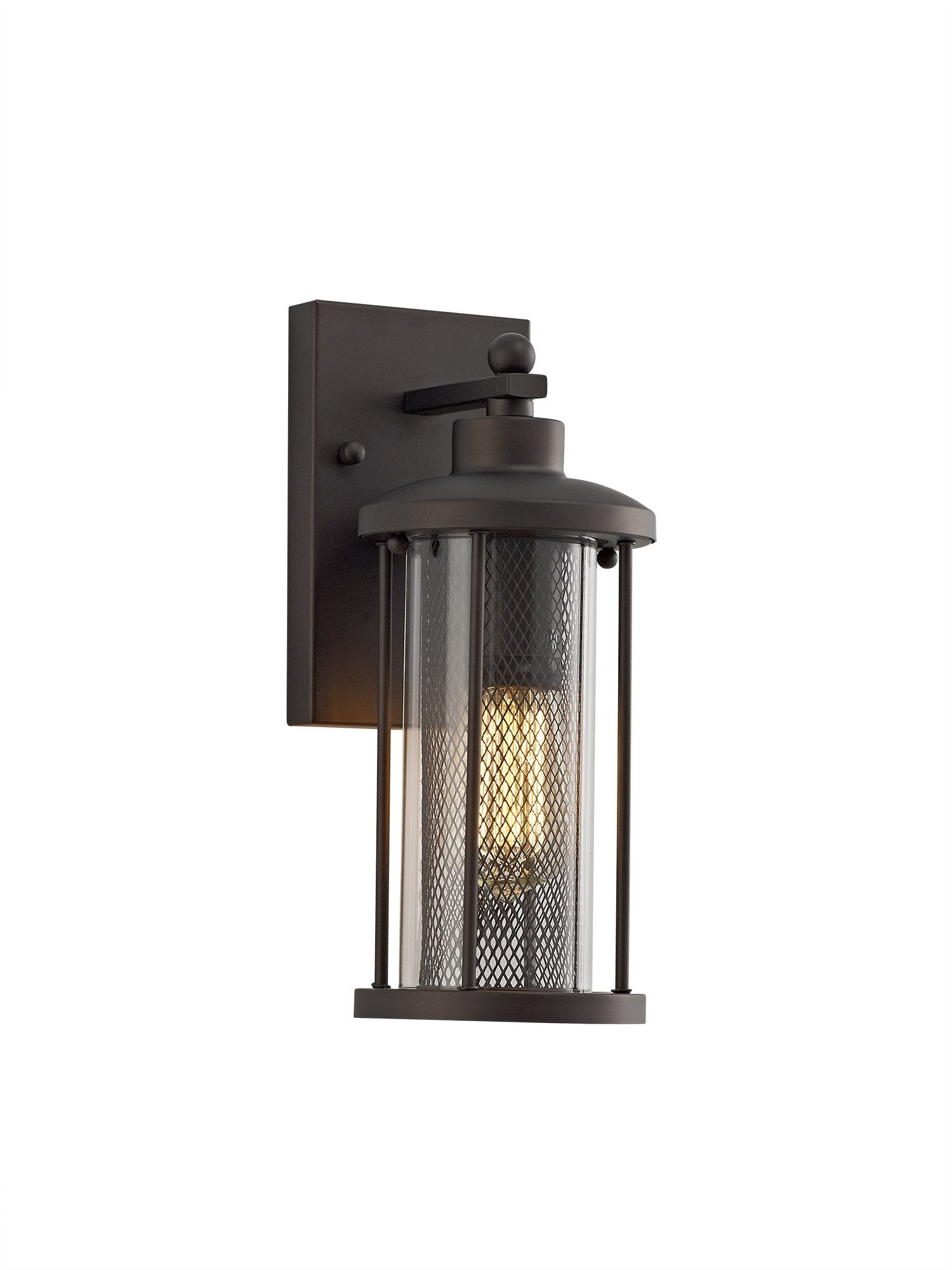 Miner outdoor wall lamp