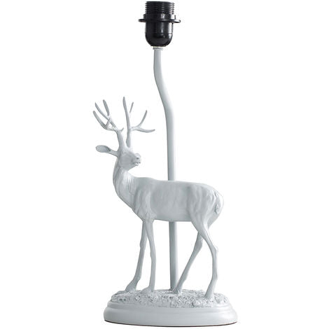 Grey Stag Table Lamp