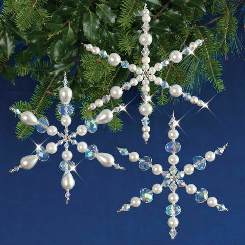 Small Crystal Snowflake Decoration