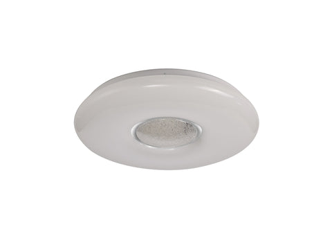 Galea Ceiling, 1 x 24W LED, CCT Switchable 3000/4000/6000K, 2032lm, Opal White, 3yrs Warranty