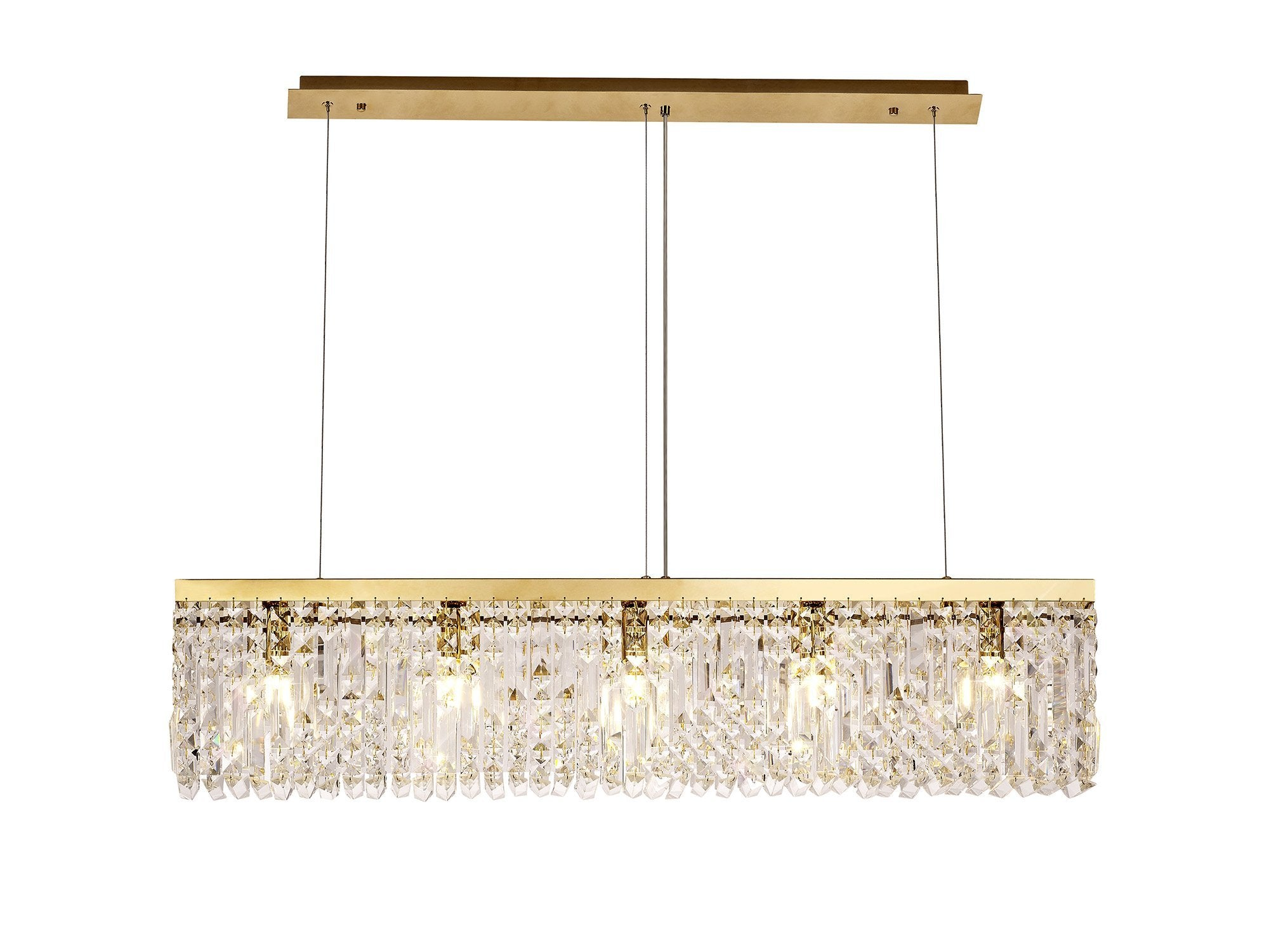 Cruise Rectangular Pure Crystal Chandelier