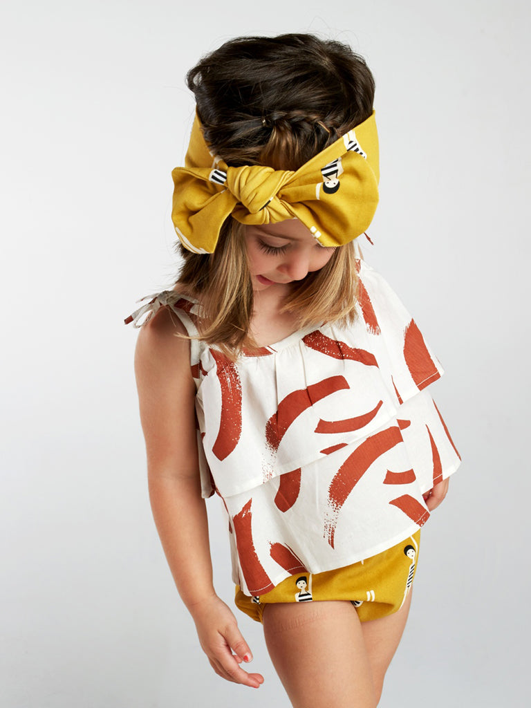 Bather Girl Bow Headband