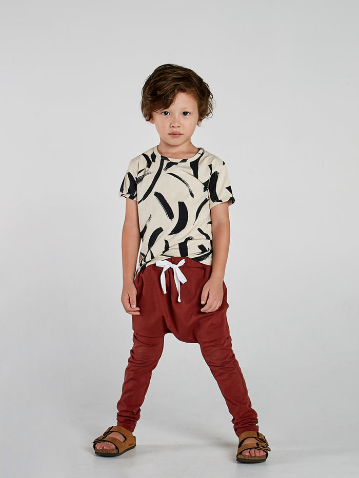 Red Earth Low Slung Pant with Tie