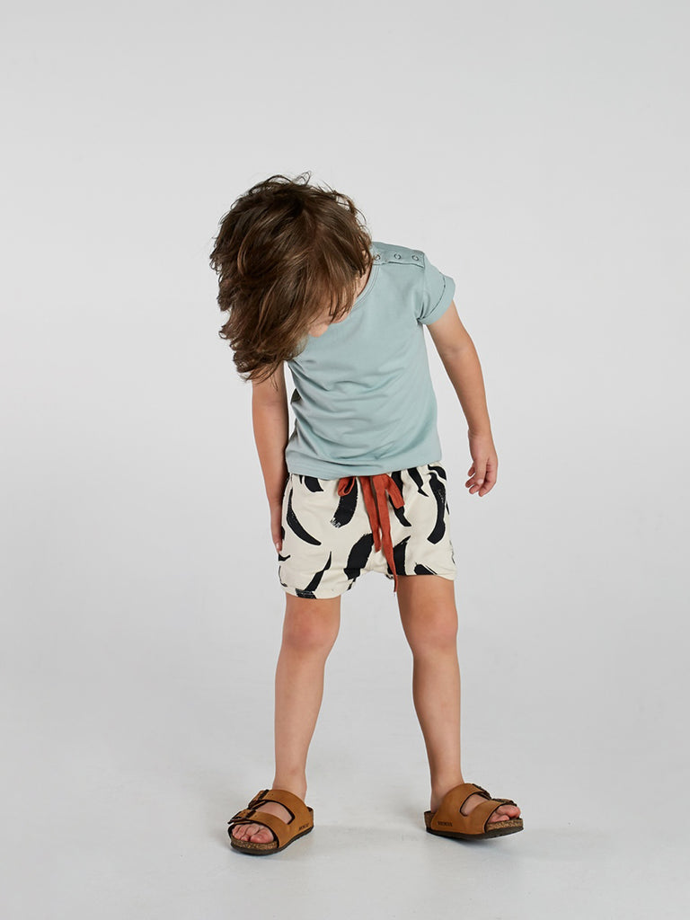 Painted Stripe Short