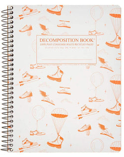 Recycled Notebook | 100% Post Consumer Waste | Fly Kicks Decomposition Book