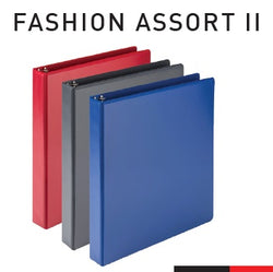 Economy Round Ring View Binders - Fashion Asst II