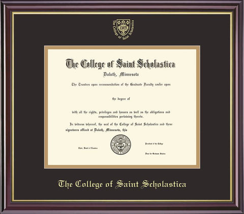 Framing Success PhD w/Presidential Crest #10
