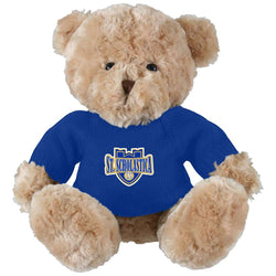 Elliott - Toffee Bear in Navy Sweater