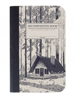 Recycled Notebook | 100% Post Consumer Waste | Redwood Creek Decomposition Book | Pocket Sized
