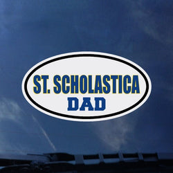 Colorshock St. Scholastica Dad Decal