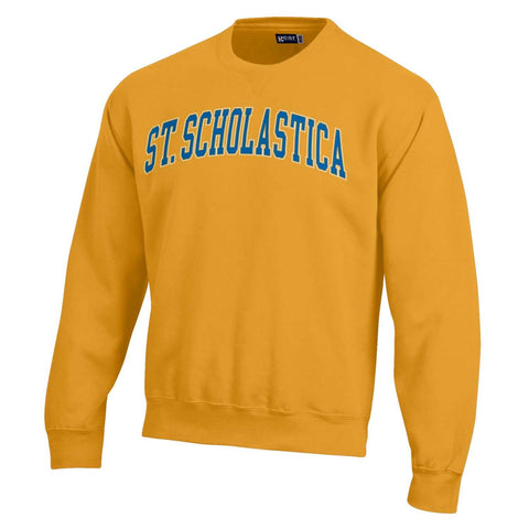 Gear Big Cotton Tumbled Crew - Arched Scholastica - Pencil Gold
