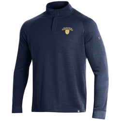 Under Armour Men's F19 Double Knit 1/4 Snap - Midnight Navy
