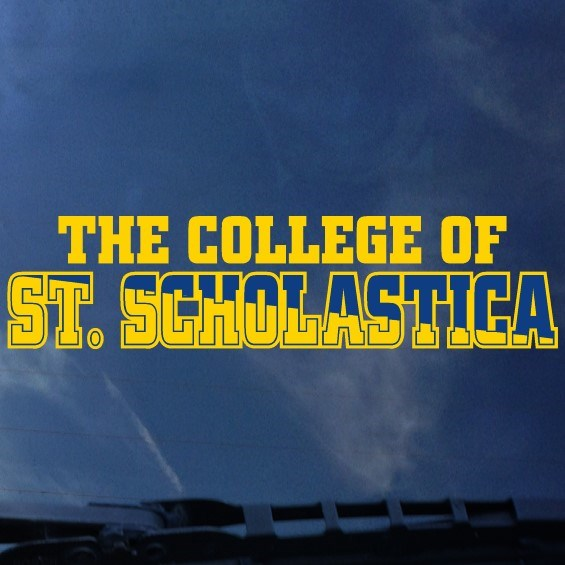 The College of St. Scholastica Window Decal
