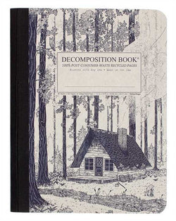 Recycled Notebook | 100% Post Consumer Waste | Redwood Creek Decomposition Book