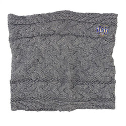 LogoFit - 'Alpine' - Cowl Neck Scarf - Light Heather