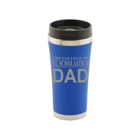 RFSJ JV Dad Tumbler with Satin Finish - Royal