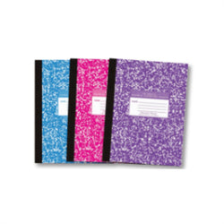 Flexible Cover Composition Notebooks - Asst Color