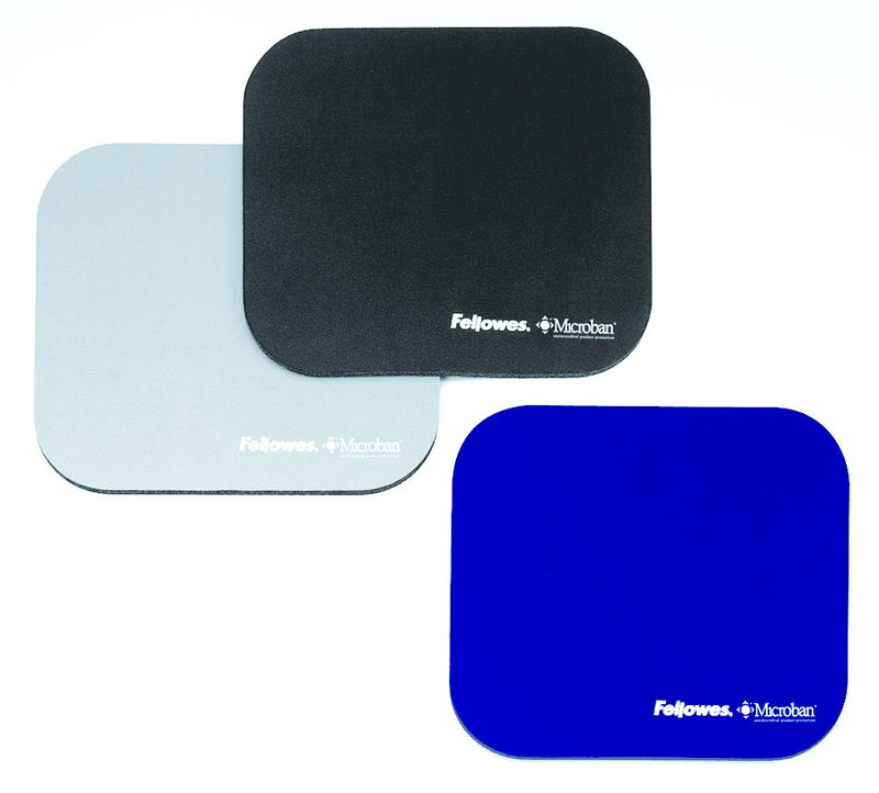 Fellowes Mouse Pad - Microban - Black