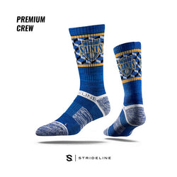 Strideline Saints Premium Crew Royal Blue