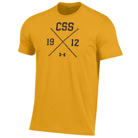 Under Armour Performance Cotton Tee - CSS over X - Steeltown Gold