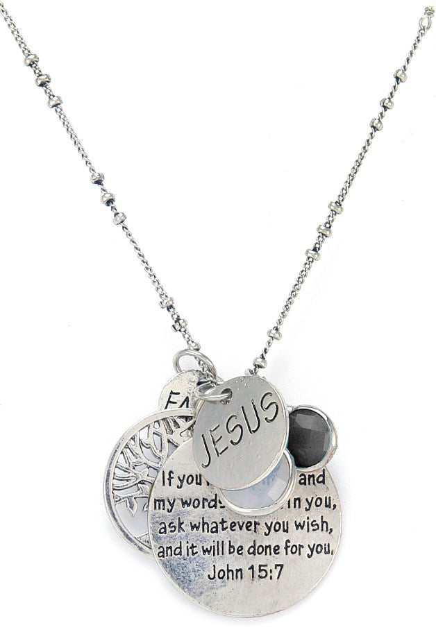 Necklace: Abundance - Scripture