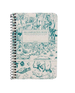 Recycled Notebook | 100% Post Consumer Waste | Everglades Decomposition Book | Pocket Sized