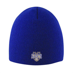 "Logofit ""Everest"" Knit Beanie - Royal"