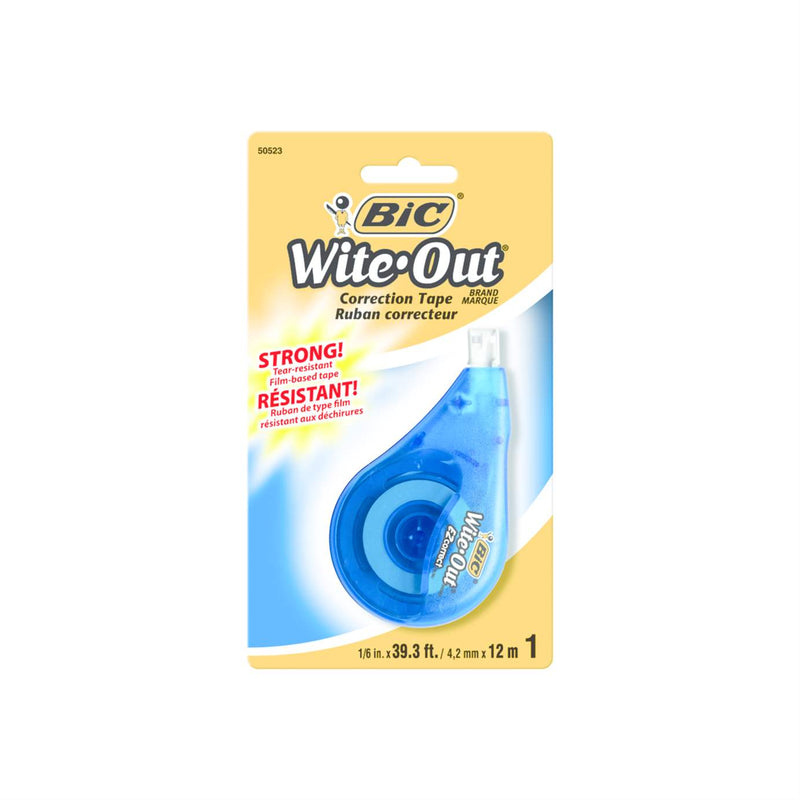 Bic Wite-Out Brand EZCorrection Tape White