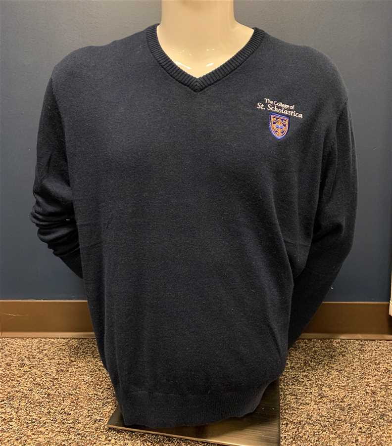 Port Authority Men's V-Neck Sweater - Navy