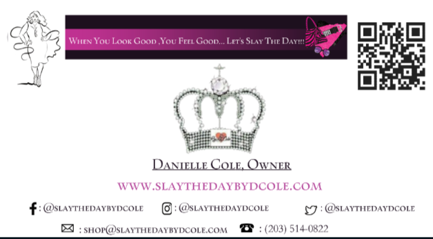 slaythedaybydcole,Business Cards,Slay The Day By D Cole,business cards