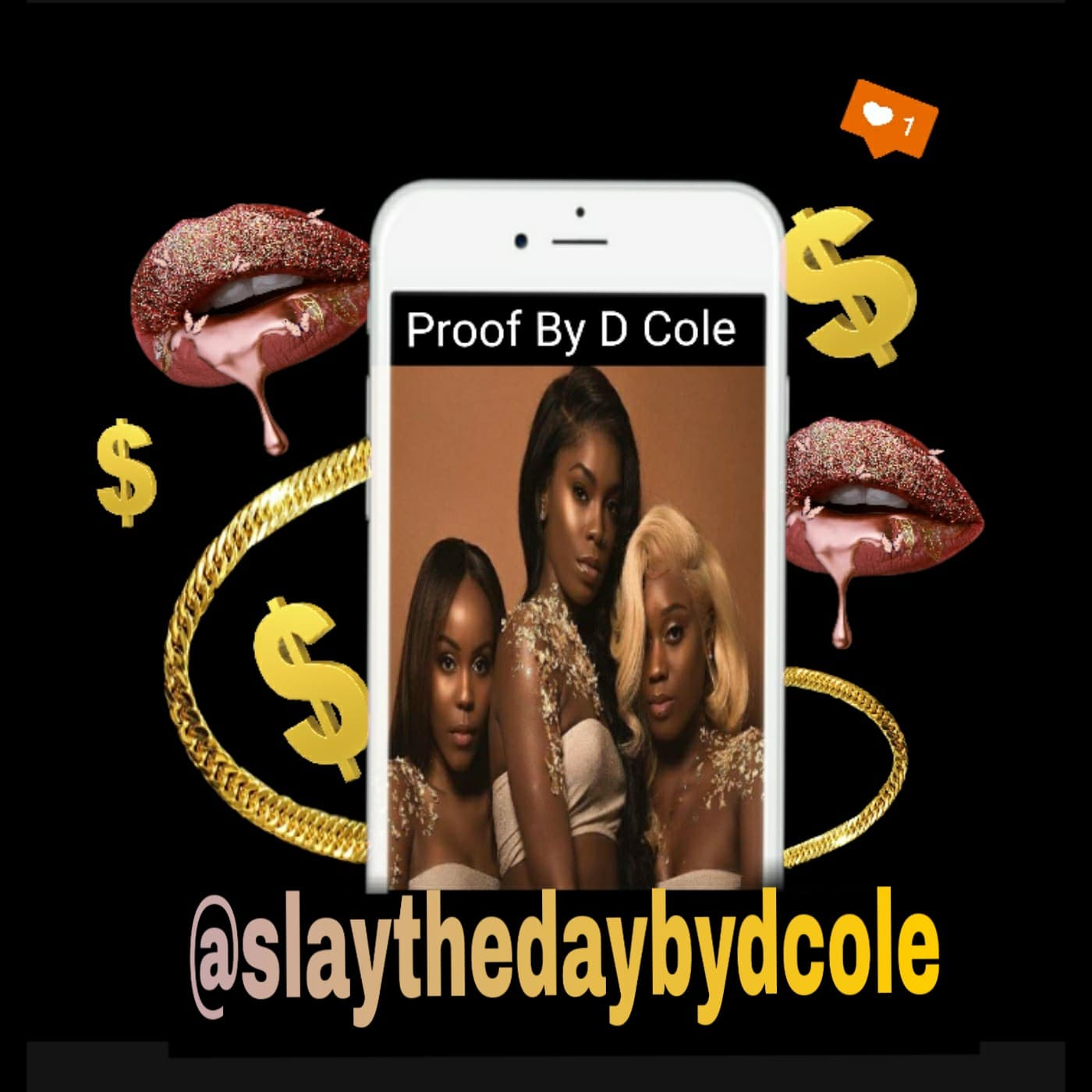 slaythedaybydcole,Custom Made Flyers & Price List,Slay The Day By D Cole,flyer
