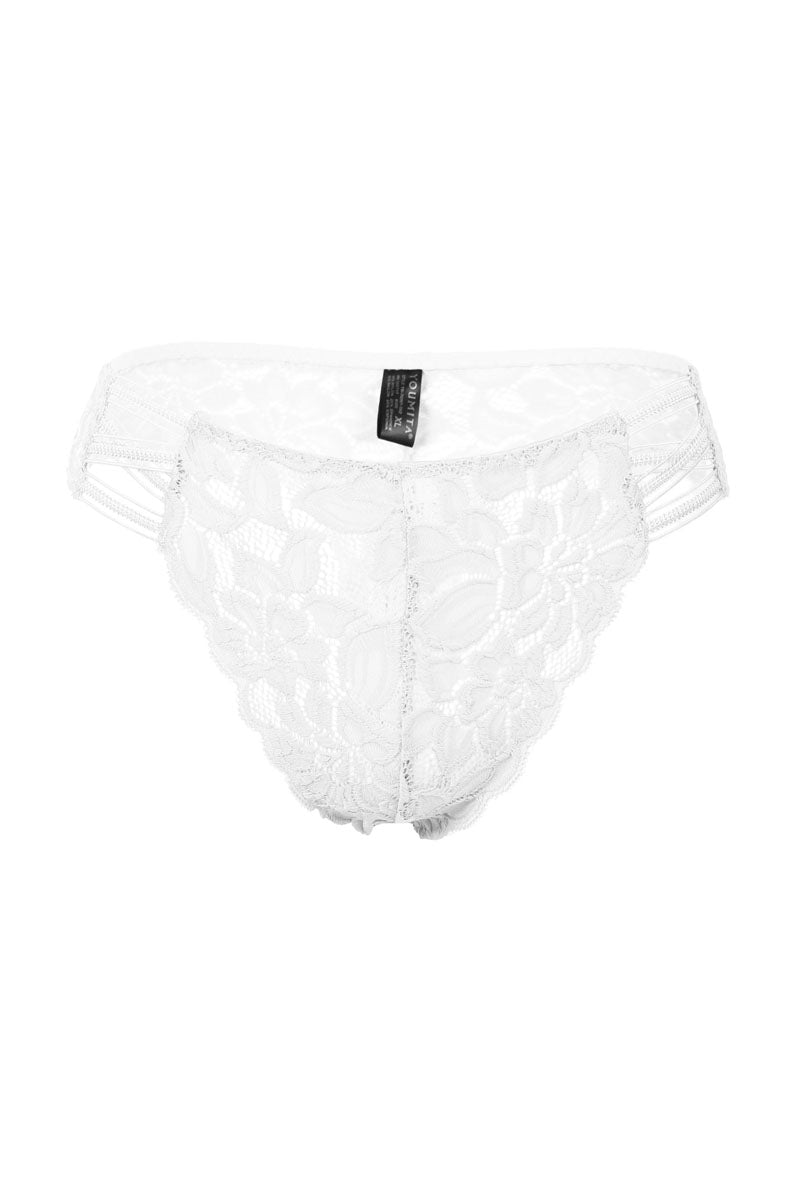 slaythedaybydcole,Sensual - Caged Floral Lace Thong,Slay The Day By D Cole,