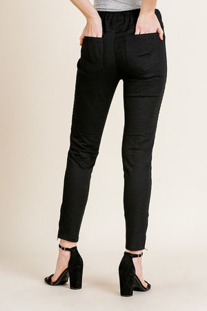 slaythedaybydcole,High Waist Skinny Moto Pant,Slay The Day By D Cole,