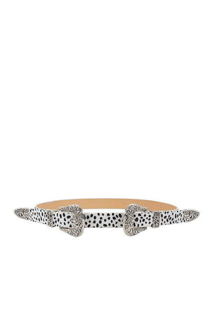 slaythedaybydcole,Trendy Stylish Leopard Double Buckle Belt,Slay The Day By D Cole,