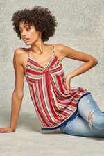 slaythedaybydcole,A Multi Stripes Camisole Top,Slay The Day By D Cole,