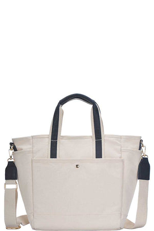 slaythedaybydcole,2in1 Designer Canvas Fabric Satchel With Long Strap,Slay The Day By D Cole,