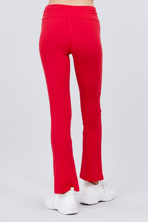 Solid Color Yoga Pants