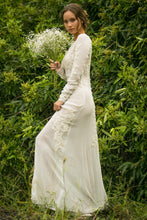 Viola Dress (ecru) - long sleeve wedding dress