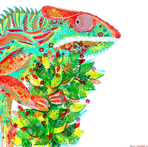 'Chameleon' Original Artwork