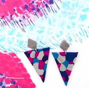 'Slay' - Triangle dangles