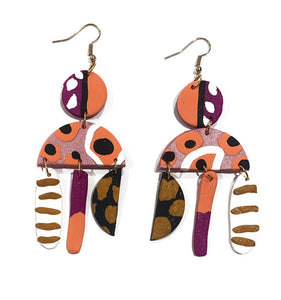 Millah Large drop earrings