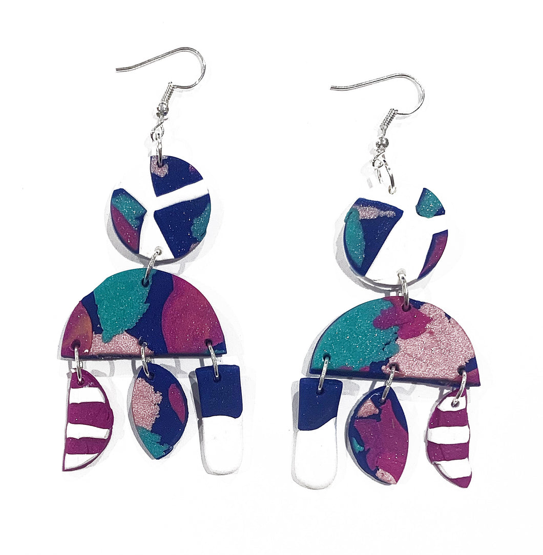 Evelyn small drop earrings