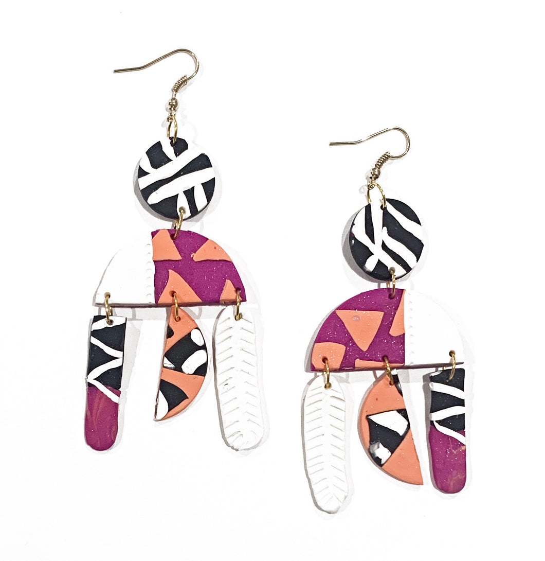 Millah Long drop earrings
