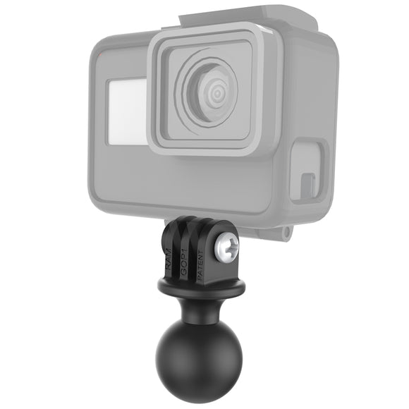 RAP-B-202U-GOP1 RAM Mounts Action Camera Universal Ball Adapter - Landloop