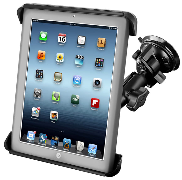RAM-B-166-TAB-LGU RAM Tab-Tite with RAM® Twist-Lock™ Suction Cup for Large Tablets - Landloop