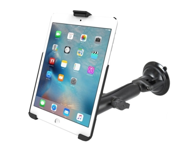 RAM Composite Long Arm Suction Cup Windshield Mount Holder for Apple iPad mini 4 - landloop