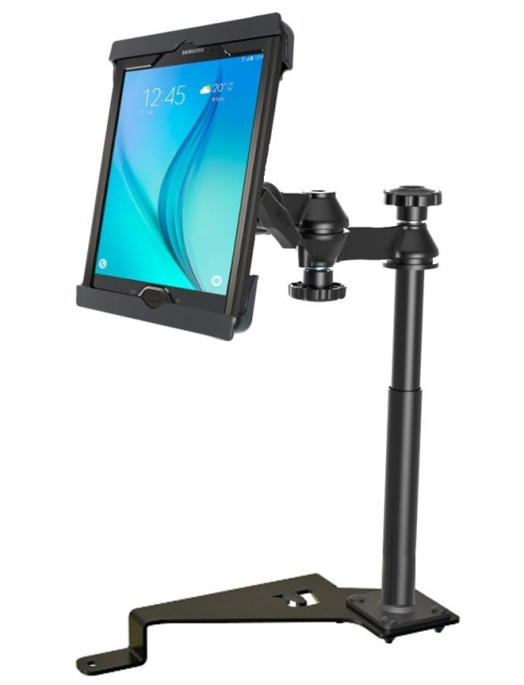 "RAM No-Drill '15-'18 Ford F-150 Mount for Apple iPad Air 1 2 & 9.7"" Tablets - landloop"