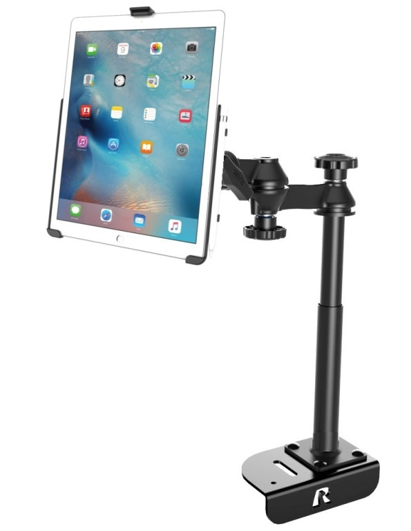 "RAM Mounts No-Drill Ford Transit Van Mount Holder Kit for Apple iPad Pro 12.9"" - landloop"