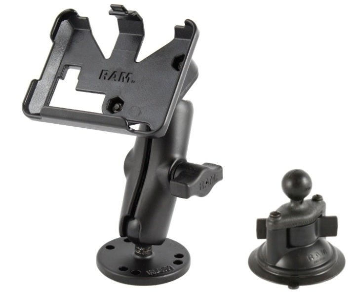 Flat Surface + Suction Cup Mount for Garmin nuvi 200 205 250 255 260 265T & 270 - landloop