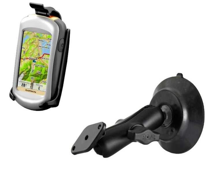 RAM Mounts Suction Cup Mount for Garmin Approach G5 Oregon 200 300 400 450 550 600 & 650 - Landloop
